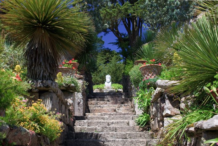 Neptune's Steps, Tresco Abbey Gardens, Isles of Scilly shutterstock_96230906