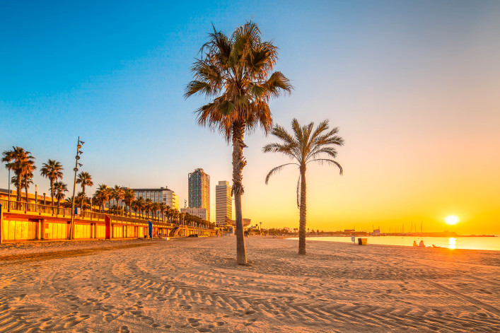 Barcelona Strand Barceloneta