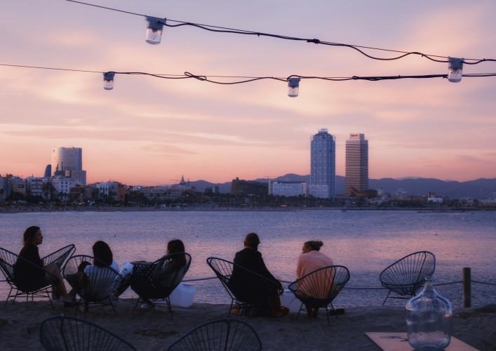 Barcelona im Sommer Festivals