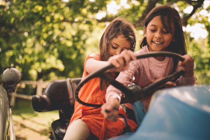 Urlaub auf dem Bauernhof Kinder