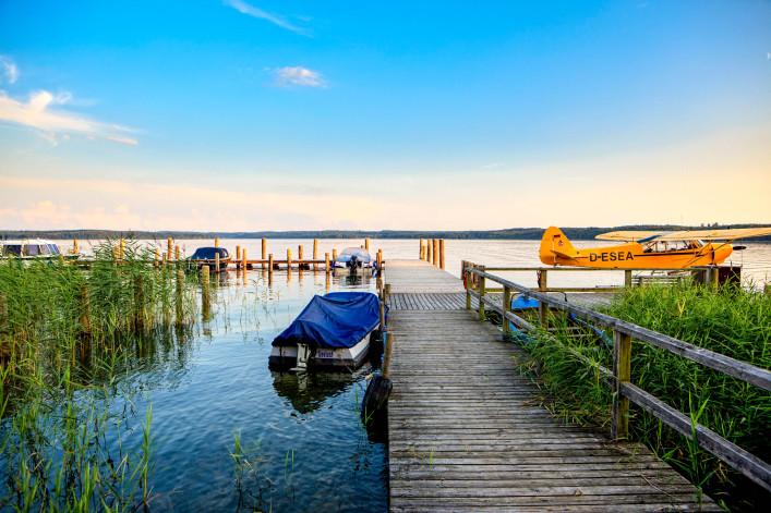 Badeseen in Deutschland Mecklenburgische Seenplatte