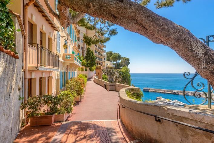 Monaco_Monte Carlo_View Cote d'Azur_shutterstock_370641806