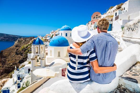 Santorin- Der perfekte Ort für einen Heiratsantrag