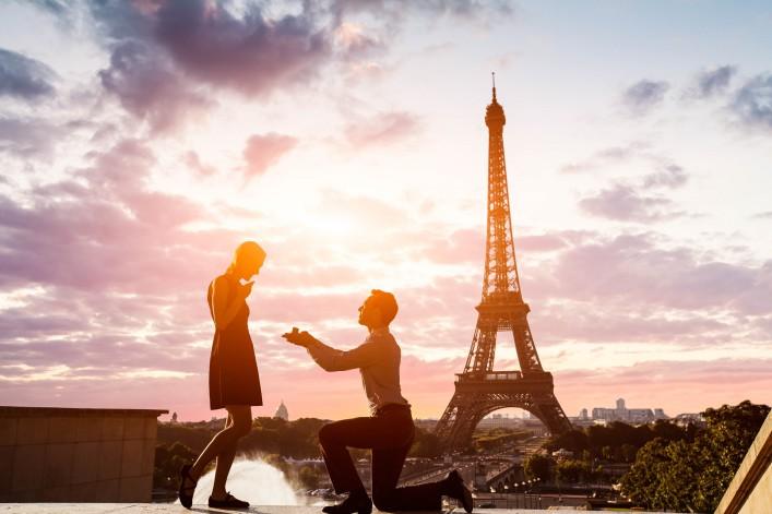 Paris - Der perfekte Ort für einen Heiratsantrag