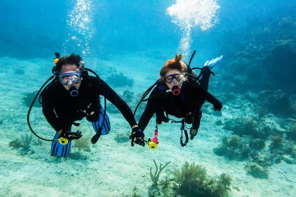 Heiratsantrag unter Wasser