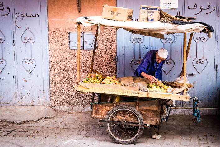 Marrakesch Tipps Händler Markt Souk