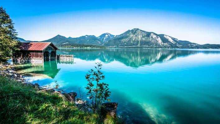 Badeseen in Deutschland Walchensee