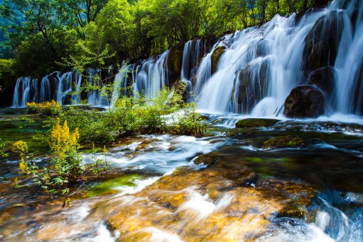 Jiuzhaigou Nationalpark China