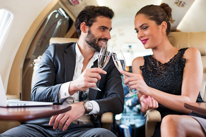 Sex im Flugzeug Mile High Club Tipps