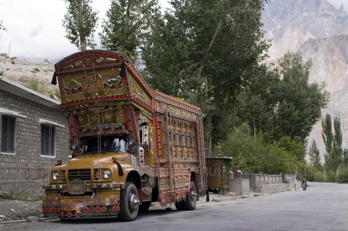 The Truck, Karakoram Highway, Pakistan