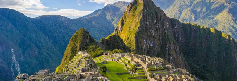 Sieben Weltwunder Machu Picchu