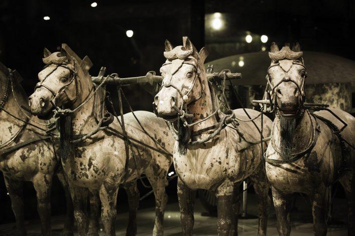 Die beeindruckende Terrakotta Armee in China