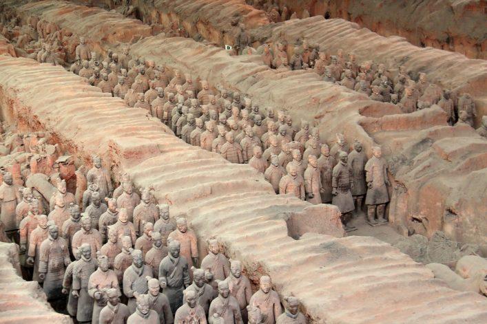 Terrakotta Armee in China
