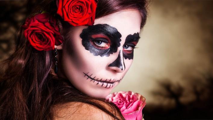 Tag der Toten in Mexiko Halloween