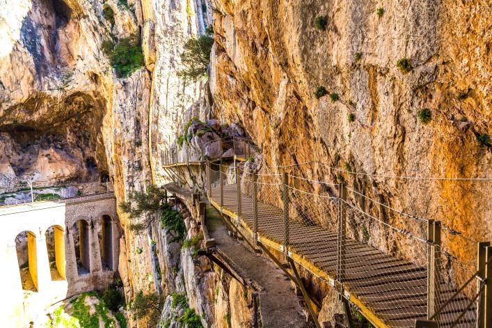 spektakulärsten brücken caminito del rey