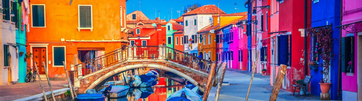 Burano Venedig Kanäle