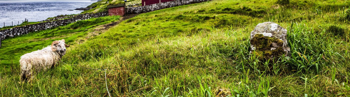 Church in Kalsoy island, Faroe Islands shutterstock_423721339-2