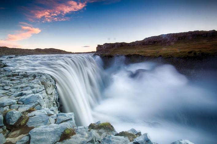 Spektakulärsten Wasserfälle Dettifoss