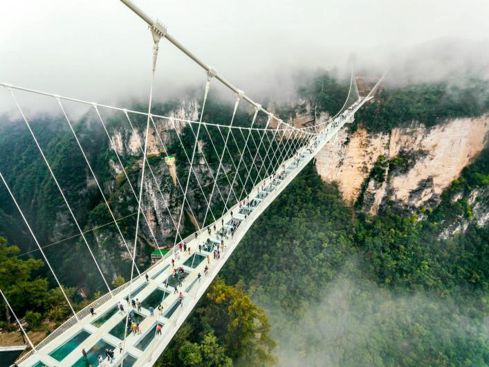Glassbodenbrücke