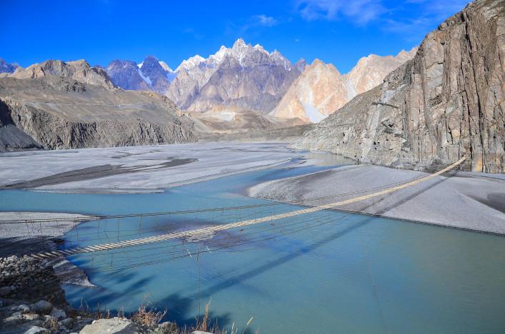Spektakuläre Brücken Pakistan