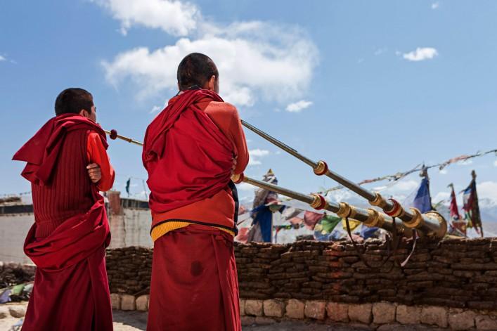 Tibet Mönche