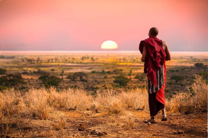 Tansania Sansibar Massai Serengeti