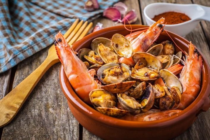 Algarve Tipps Seafood Essen