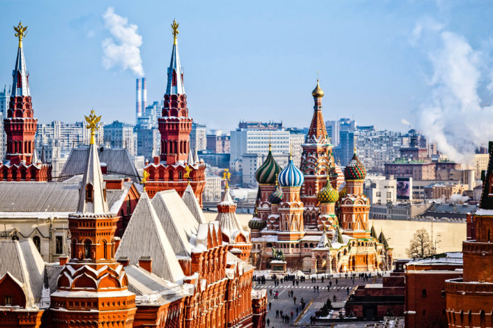 Die größten Städte der Welt Moskau