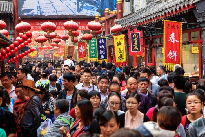 Die größten Städte der Welt Peking China