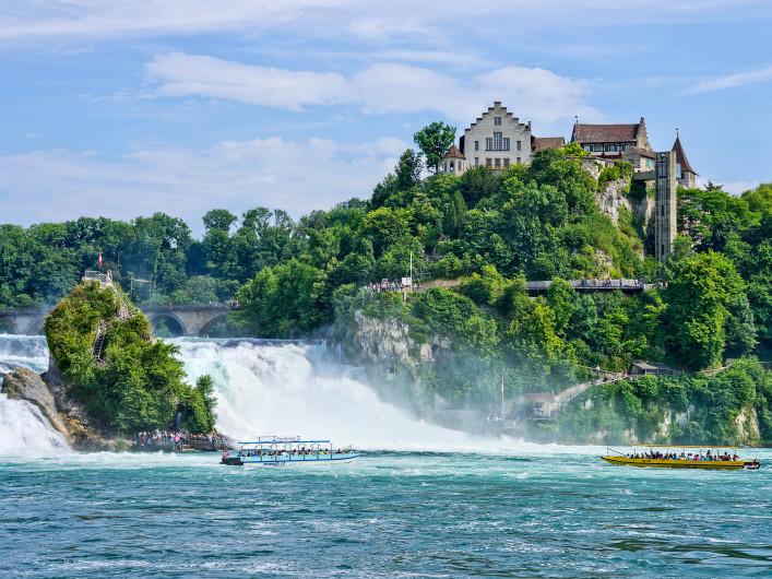 Spektakulärsten Wasserfälle Rheinfall