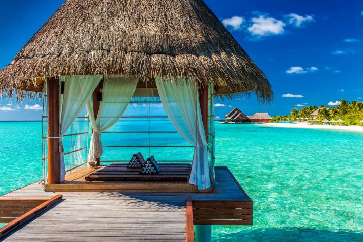 Malediven Unterkunft Hotels
