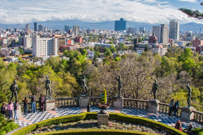 Die größten Städte der Welt Mexiko Stadt