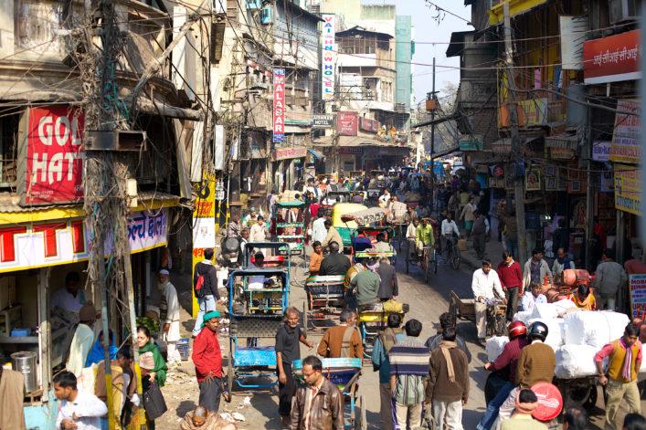 die größten Stadte der Welt Delhi Indien