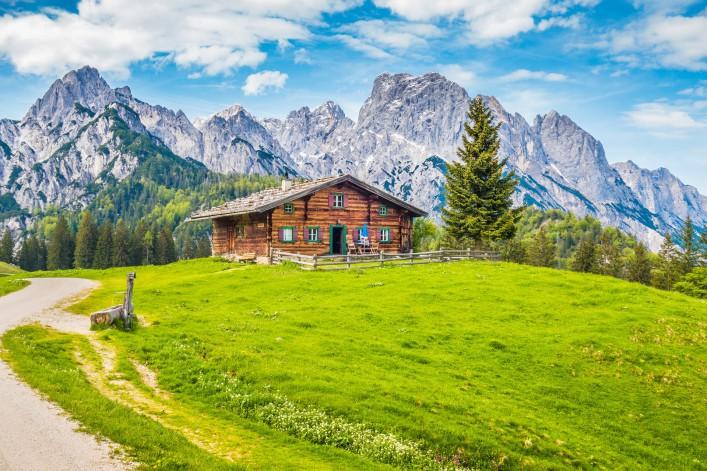Südtirol_Alm_Hütte_Chalet_shutterstock_444111709