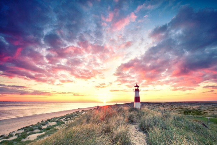 Sylt Tipps Strand Leuchtturm