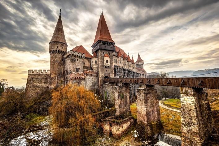 Halloween weltweit Transsilvanien Graf Dracula