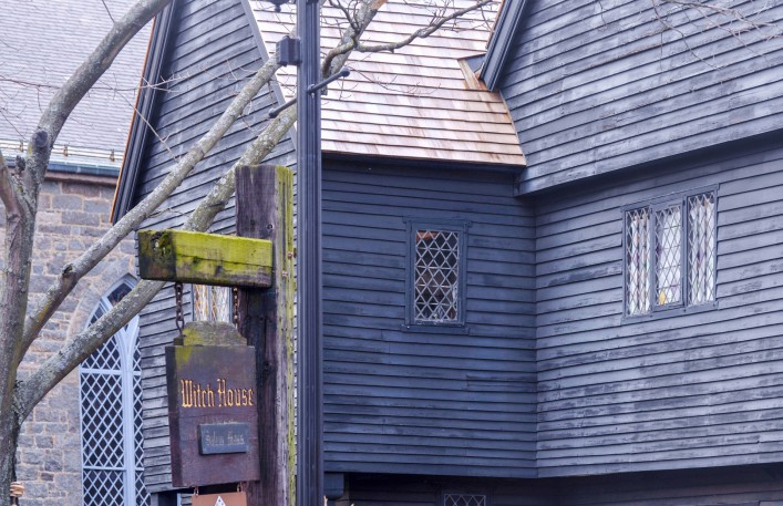 Halloween weltweit Salem Hexenstadt USA