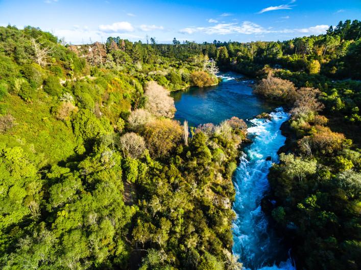 spektakulärste wasserfälle Huka Falls