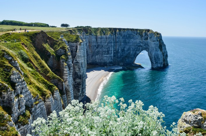 Normandie Alabasterküste