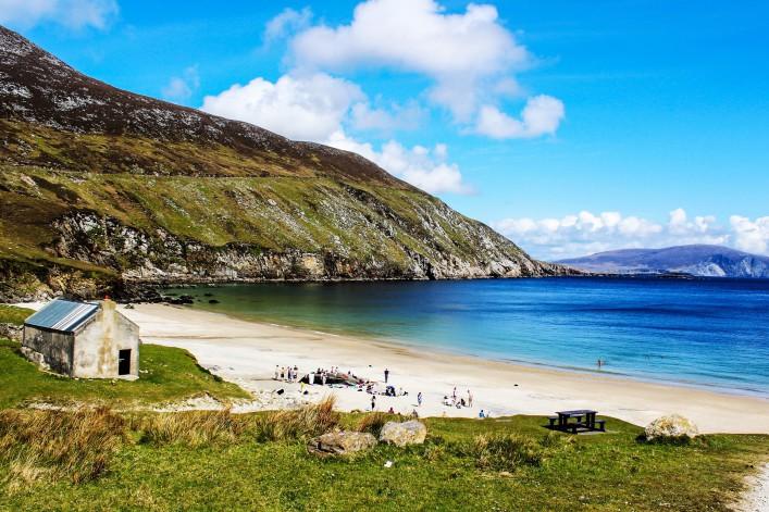 Wild Atlantic Way Achill Island Keem Strand