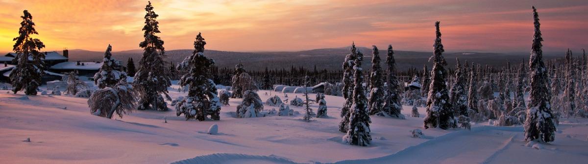 Lappland Norden Finnland