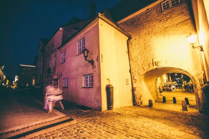 Riga Altstadt Nachtleben