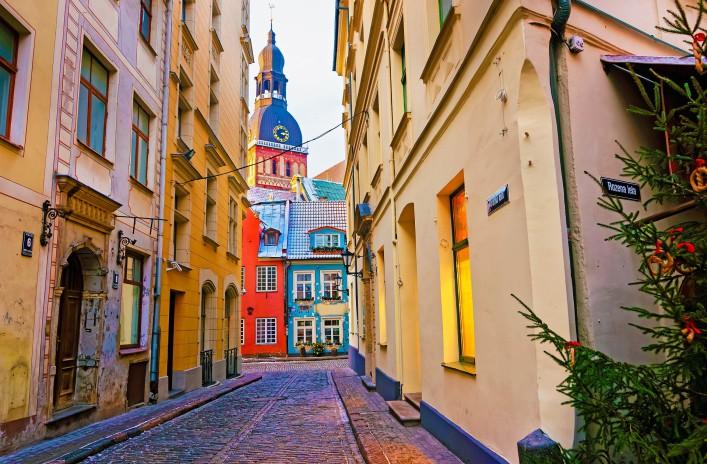 Riga Tipps Petri Kirche Altstadt