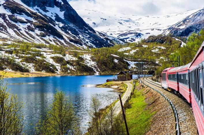 Norwegen Oslo BergenBAHN