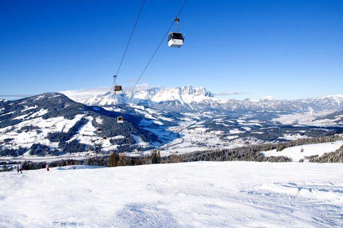 Kitzbüheler Alpen Pisten Skigebiet