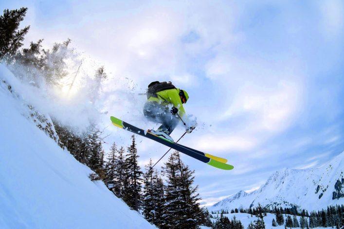 Kitzbühel Skigebiet Freeride