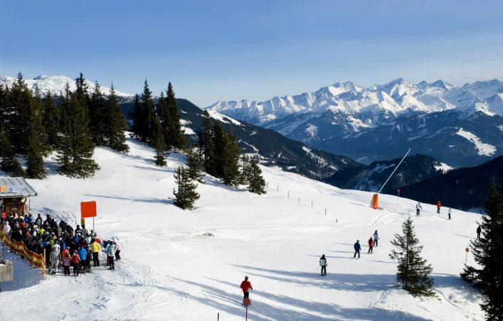 Kitzbühel Skigebiet Österreich