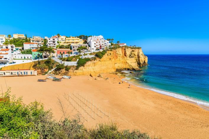 Die schönsten Strände der Algarve carvoeiro