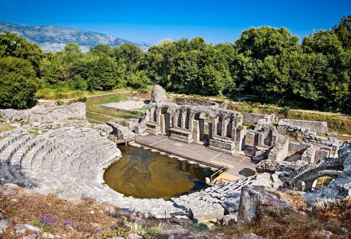 Albanien Antike Stätte Butrint