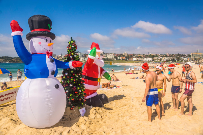 Bondi Beach – Christmas Tree